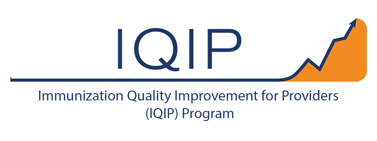 Immunization Quality Improvement for Providers (IQIP) Program logo