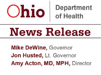 Image of Ohio Department of Health Open Meeting Notice