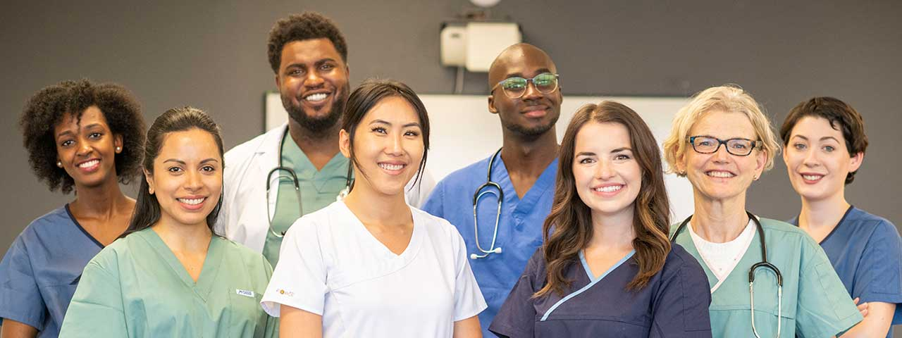 image of older adlt woman and care provider
