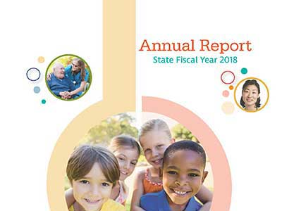 The Ohio Department of Health 2018 Annual Report Cover