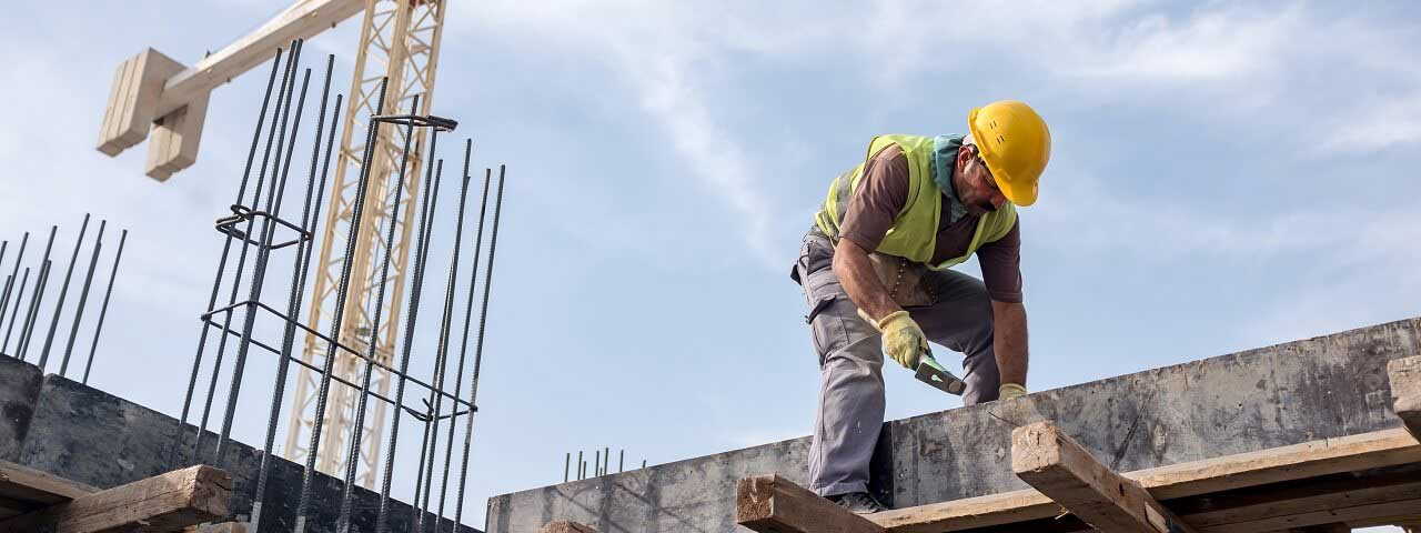 Image of a construction worker