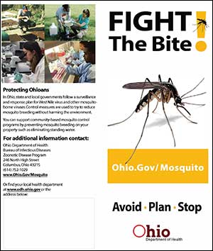Brochure: Fight the Bite! Prevent Mosquito-borne Diseases