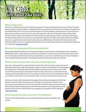 Fact Sheet: Facts About Zika Virus